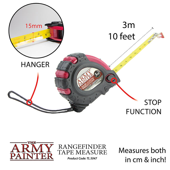 Wargamer Tape Measure RANGEFINDER