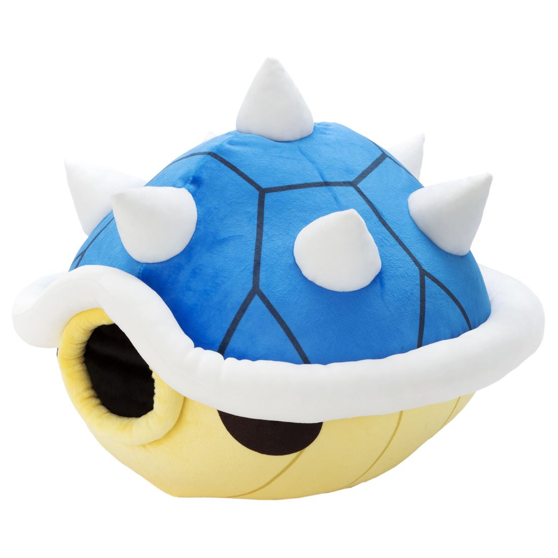 Mario Kart Club Mocchi-Mocchi- Blue Shell Plush Stuffed Toy