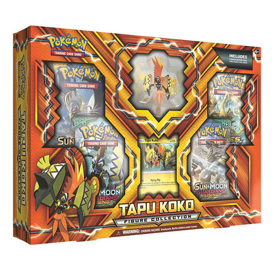 Pokémon Tapu Koko Figure Collection Box