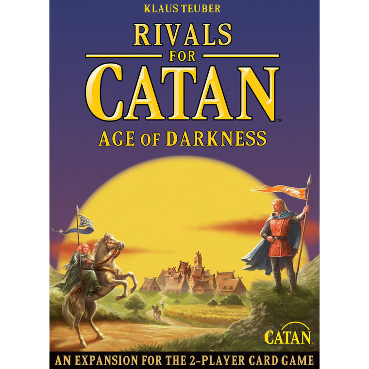 The Rivals for Catan Age of Darkness Expansion