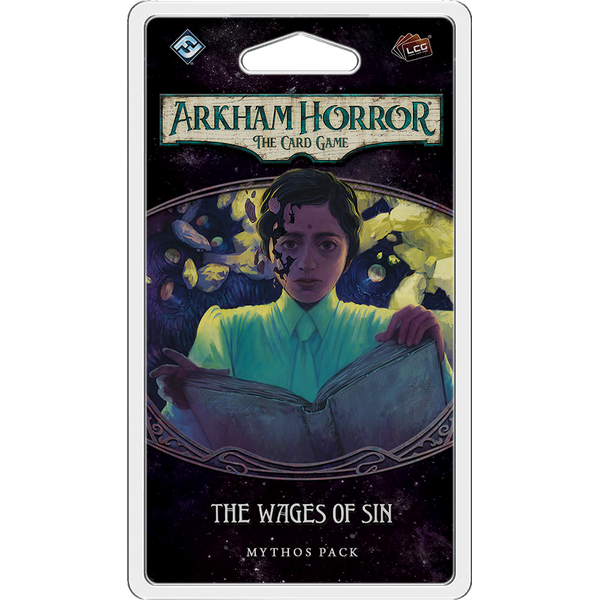 Arkham Horror The Card Game The Wages of Sin Mythos Pack