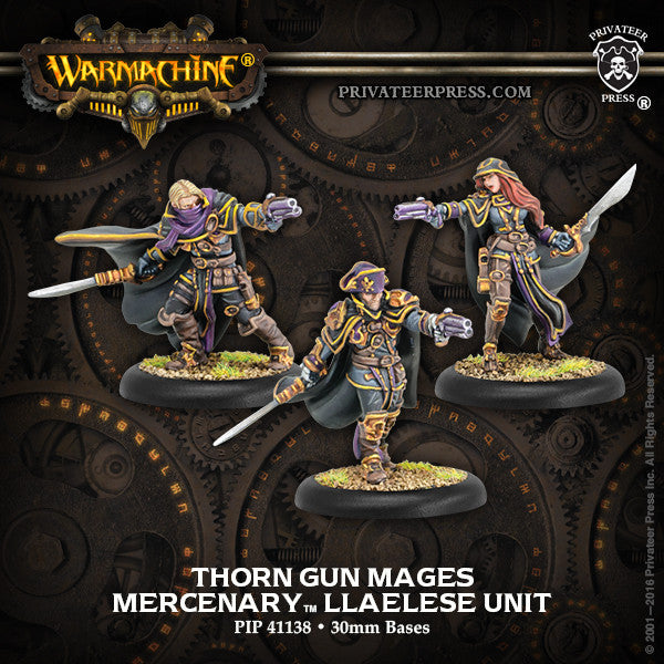 Warmachine Mercenaries Thorn Gun Mages