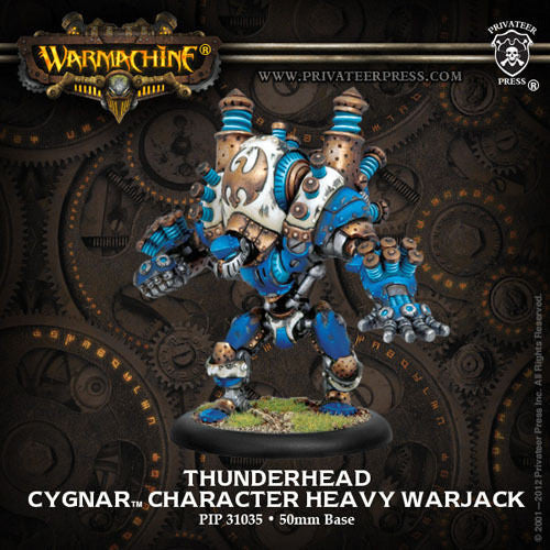 Warmachine Cygnar Thunderhead