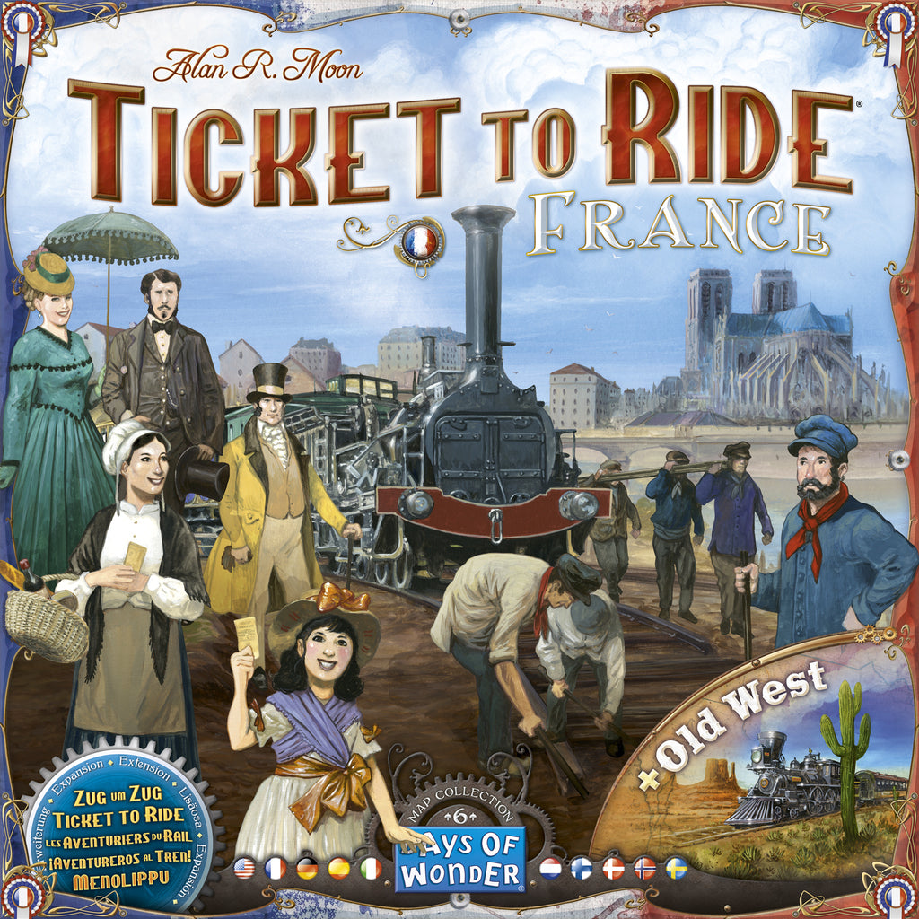Ticket to Ride Map Collection France & Old West ML