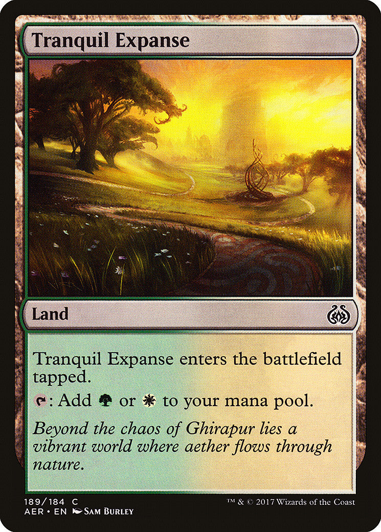 Aether Revolt Tranquil Expanse