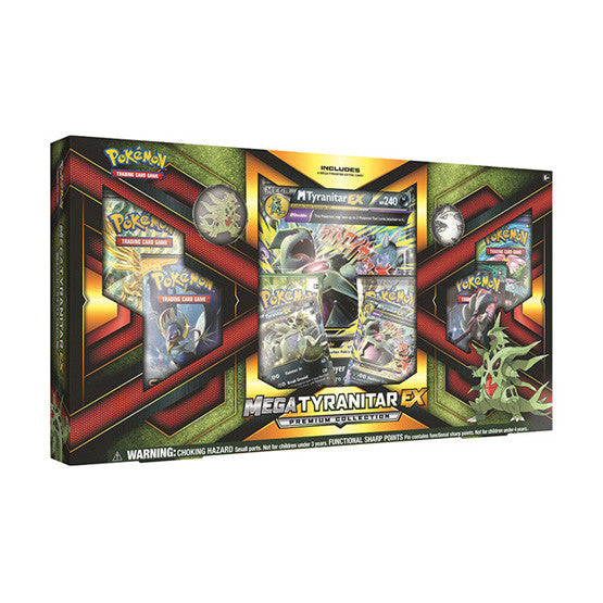 Pokémon Mega Tyranitar EX Premium Collection