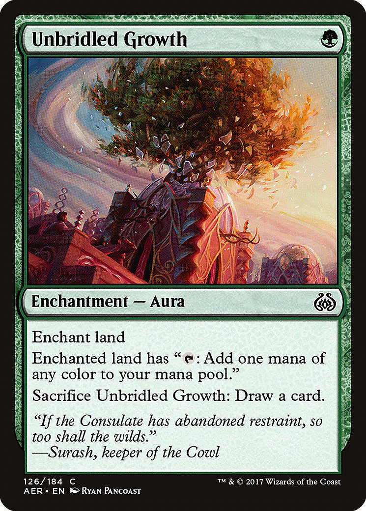 Aether Revolt Unbridled Growth
