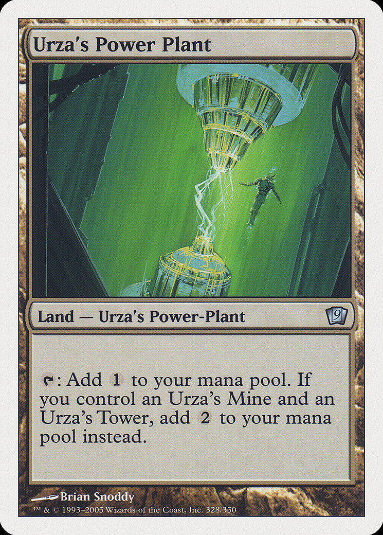 9th Edition Urza's Power Plant