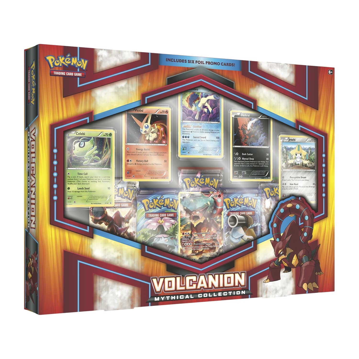 Pokémon Mythical Collection Volcanion Box