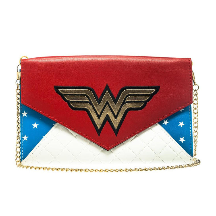 Wonder Woman Clutch with Chain
