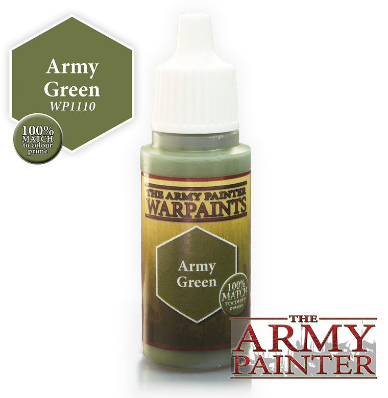 WarPaints ARMY GREEN 18 ml