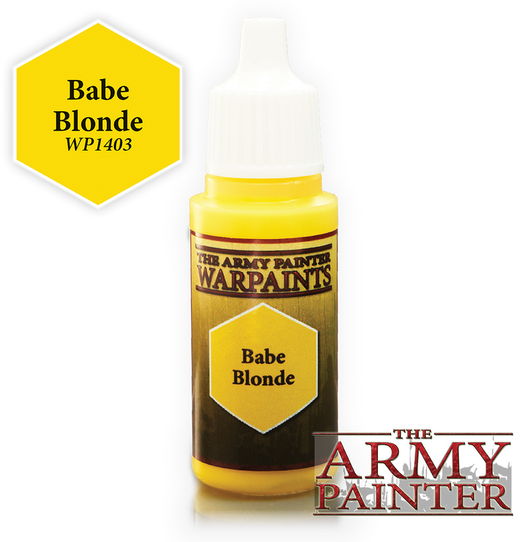 WarPaints BABE BLONDE 18 ml