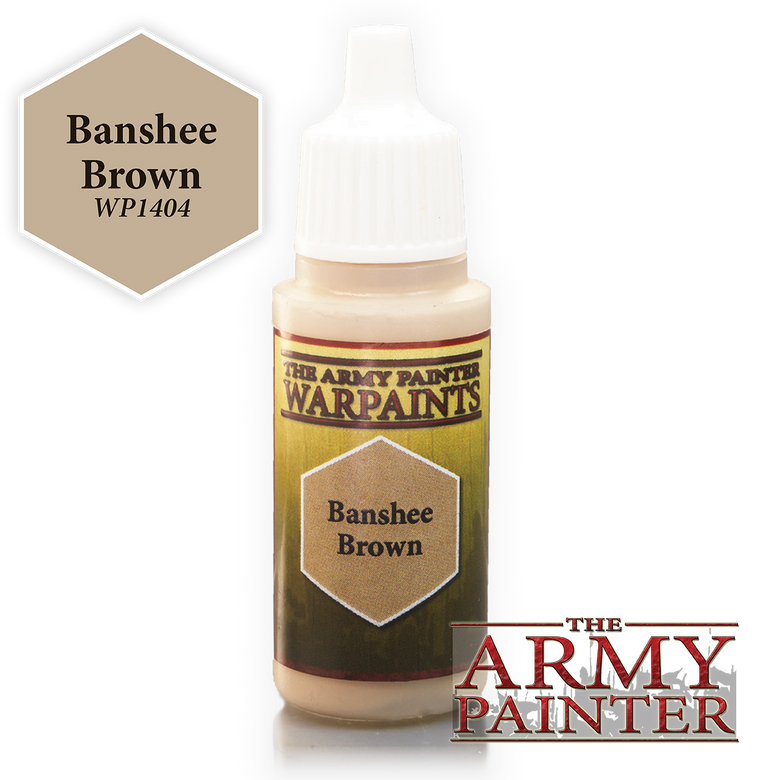 WarPaints BANSHEE BROWN 18 ml