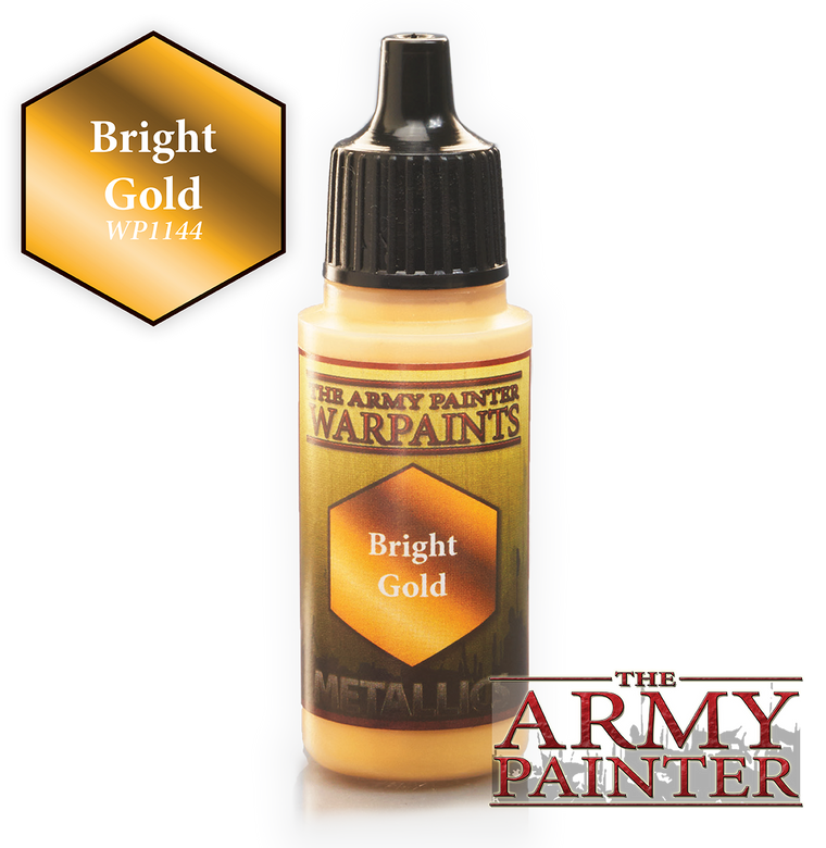 WarPaints BRIGHT GOLD 18 ml