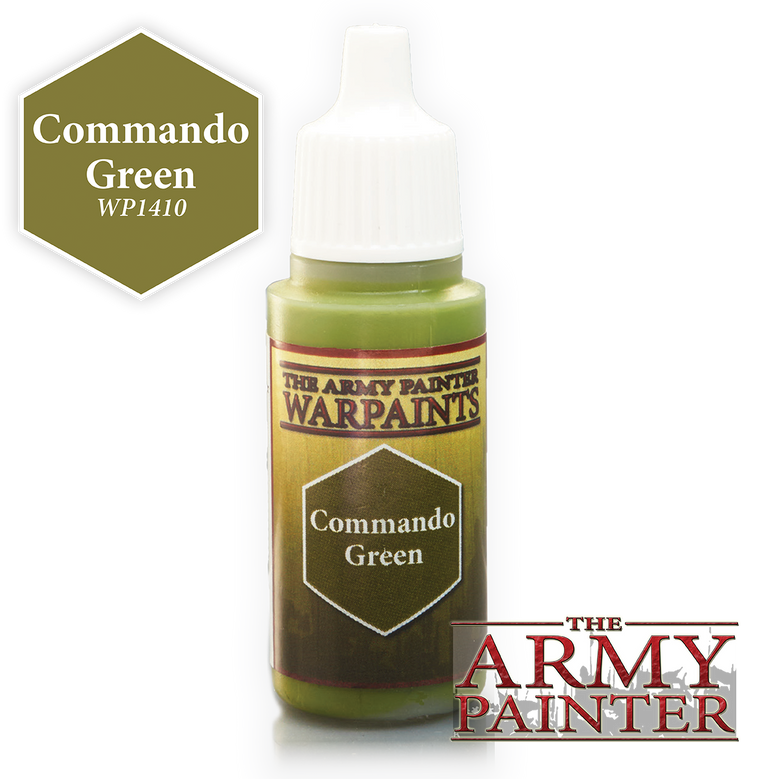 WarPaints COMMANDO GREEN 18 ml