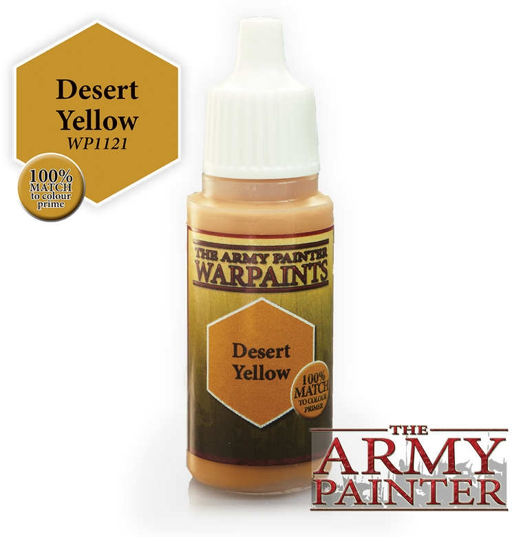 WarPaints DESERT YELLOW 18 ml
