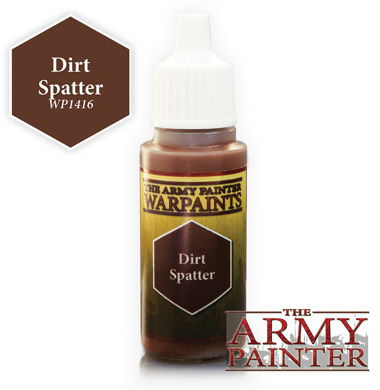 WarPaints DIRT SPATTER 18 ml