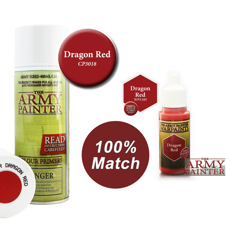 WarPaints DRAGON RED 18 ml