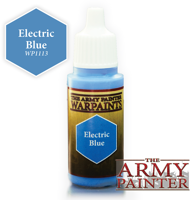 WarPaints ELECTRIC BLUE 18 ml