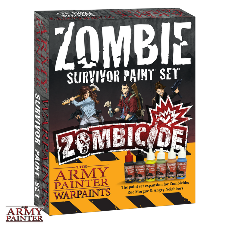 WarPaints  Zombie SURVIVOR Paints Set