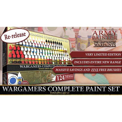 WarPaints Wargamers Complete Paint Set Limited Edition