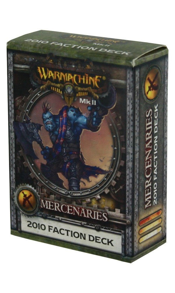Warmachine Mercenaries Mk II 2010 Faction Deck