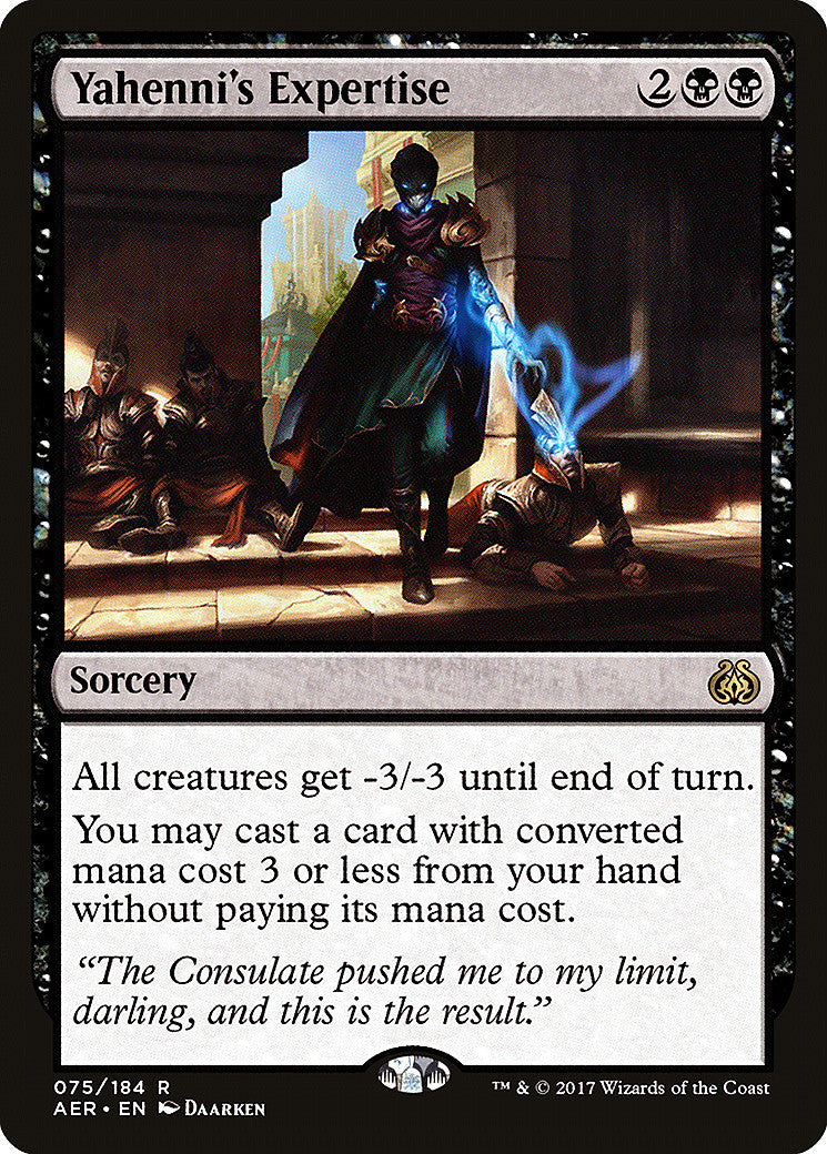 Aether Revolt Yahenni's Expertise