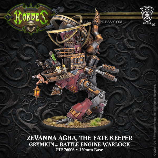 Hordes Grymkin Zevanna Agha, The Fate Keeper