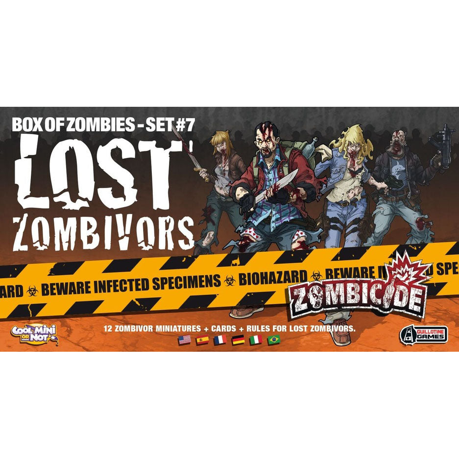 Zombicide Lost Zombivors Box of Zombies Set #7