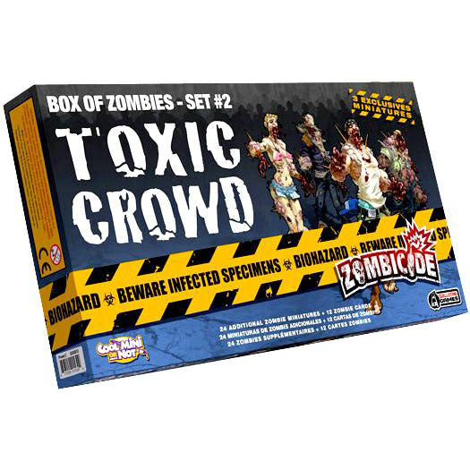Zombicide Toxic Crowd Box of Zombies Set #2