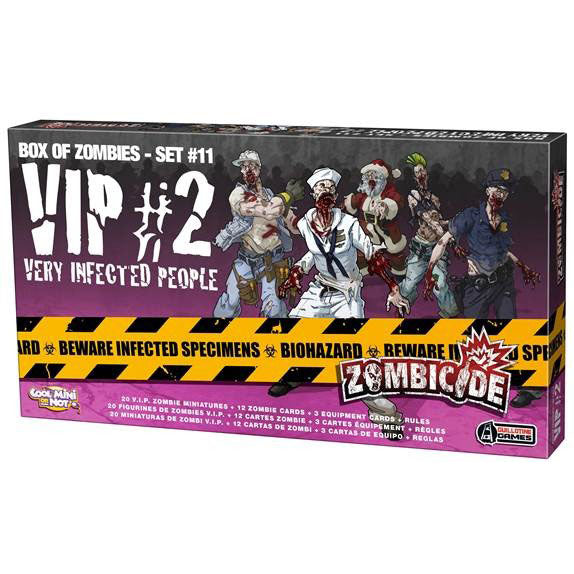 Zombicide VIP Very Infected People #2 Box of Zombies Set #11