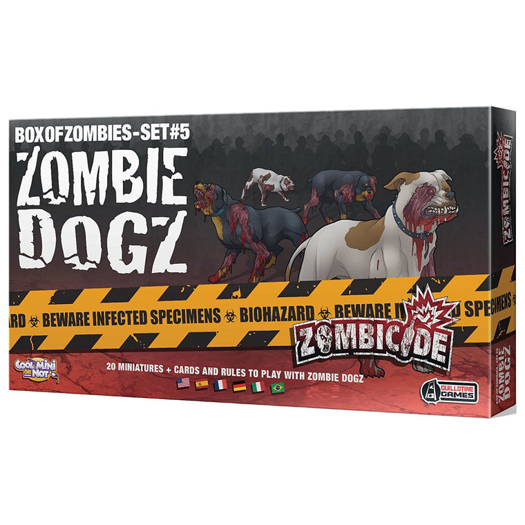 Zombicide Zombie Dogz Box of Zombies Set #5