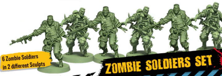 Zombicide (2nd Edition): Zombie Soldiers Set