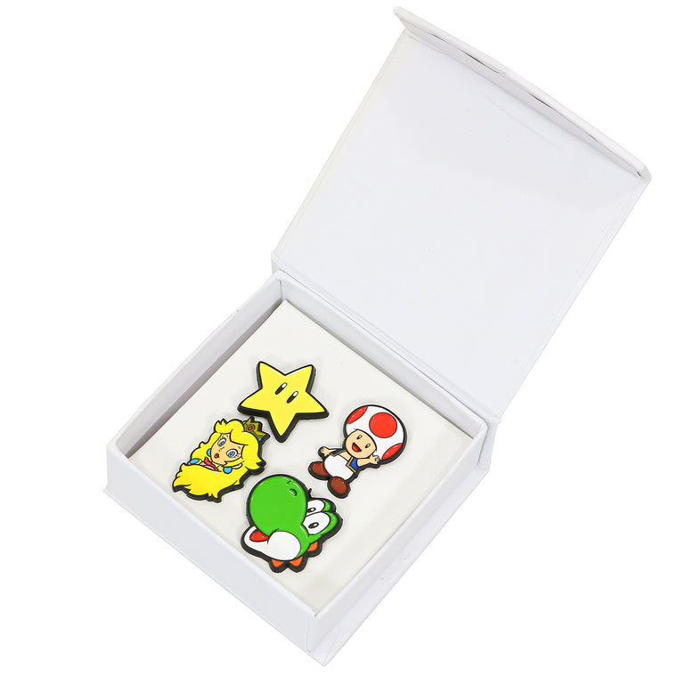 Nintendo - Super Mario Lapel Pin Set