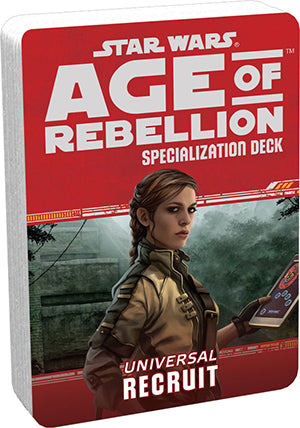 Star Wars Age of Rebellion Recruit Specialization Deck