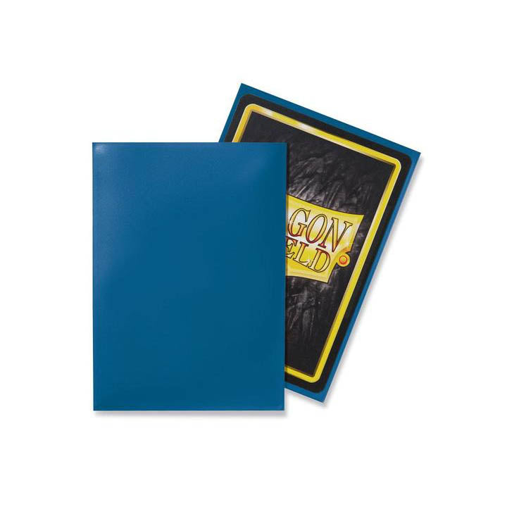 Dragon Shield Sleeves Blue 100CT Standard Size