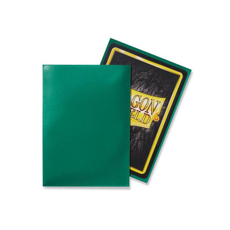 Dragon Shield Sleeves Green 100CT Standard Size