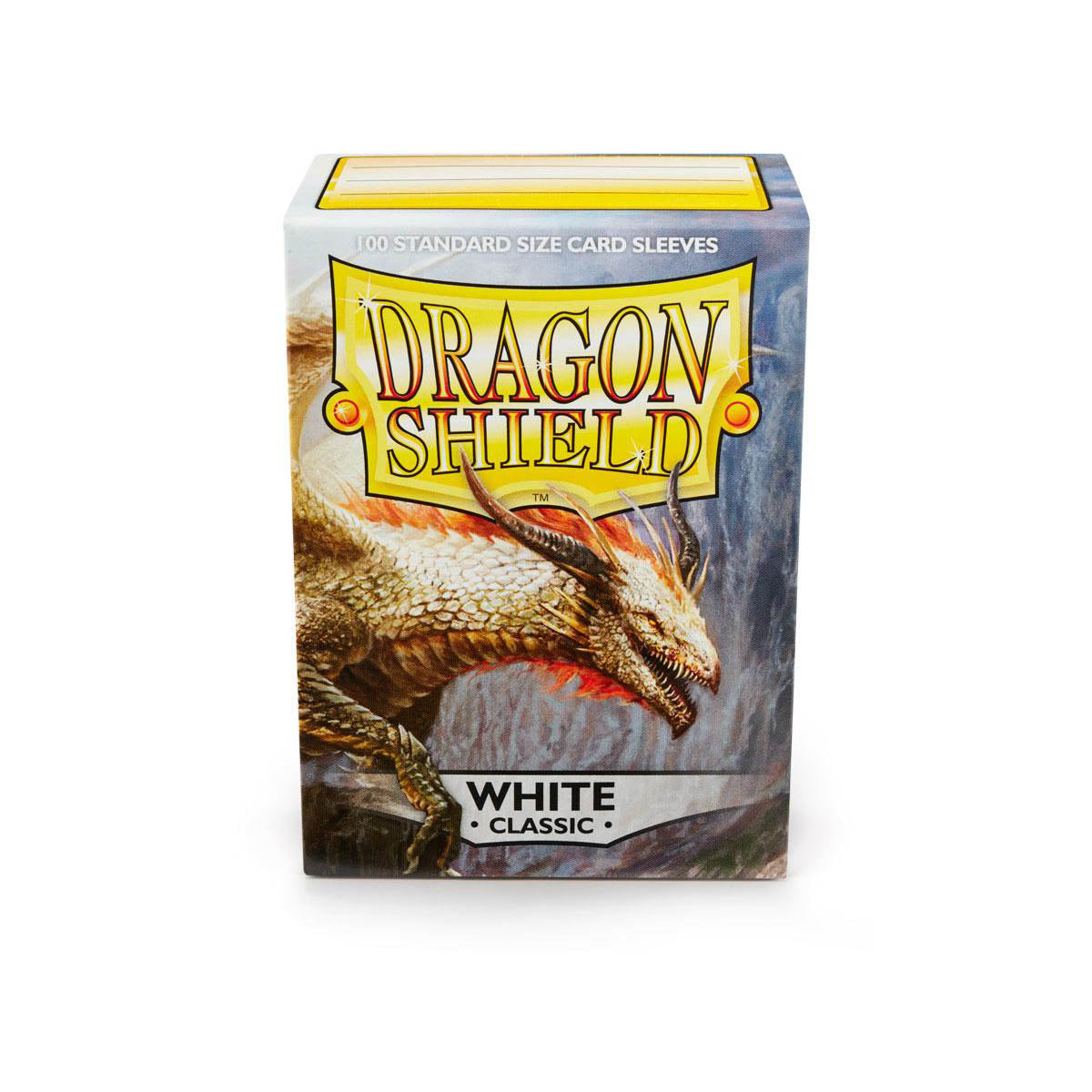 Dragon Shield Sleeves White 100CT Standard Size