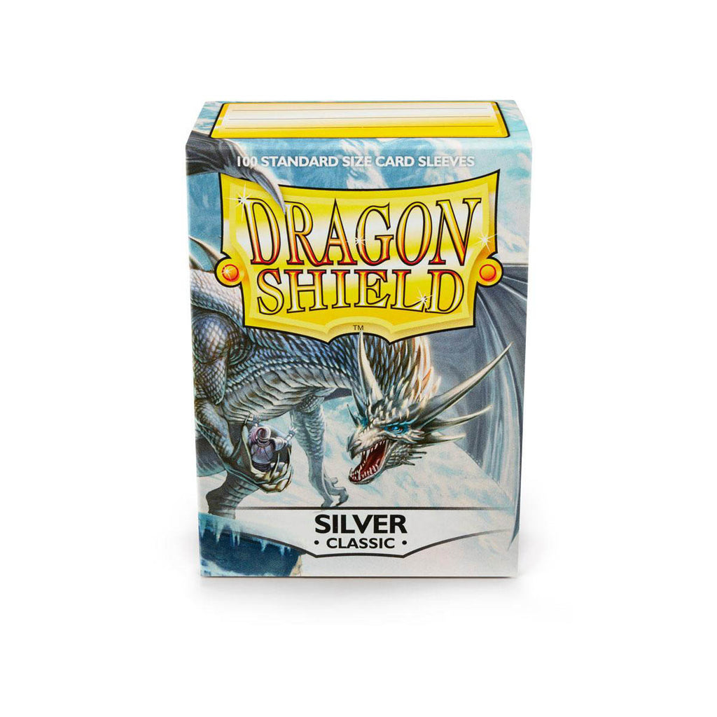 Dragon Shield Sleeves Silver 100CT Standard Size