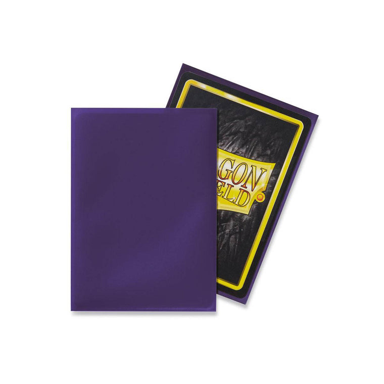Dragon Shield Sleeves Purple 100CT Standard Size