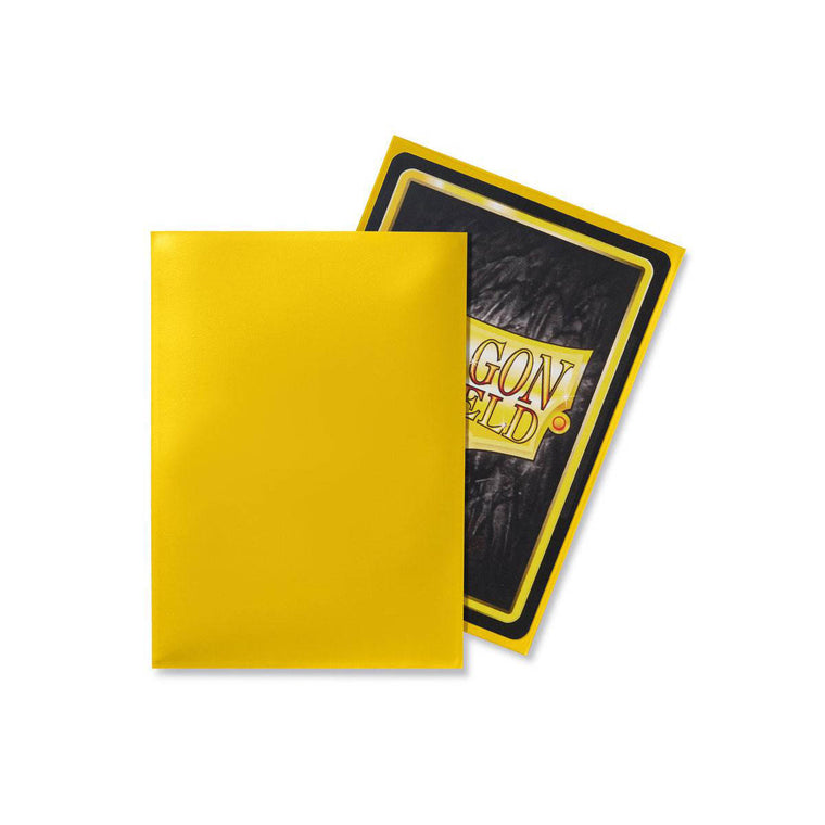 Dragon Shield Sleeves Yellow 100CT Standard Size