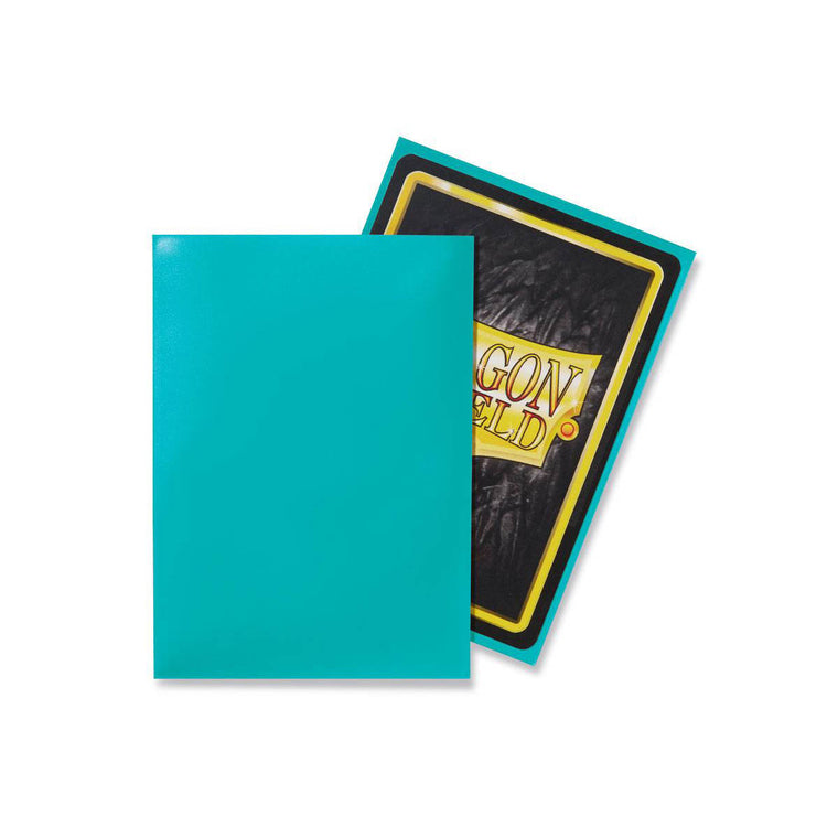 Dragon Shield Sleeves Turquoise 100CT Standard Size
