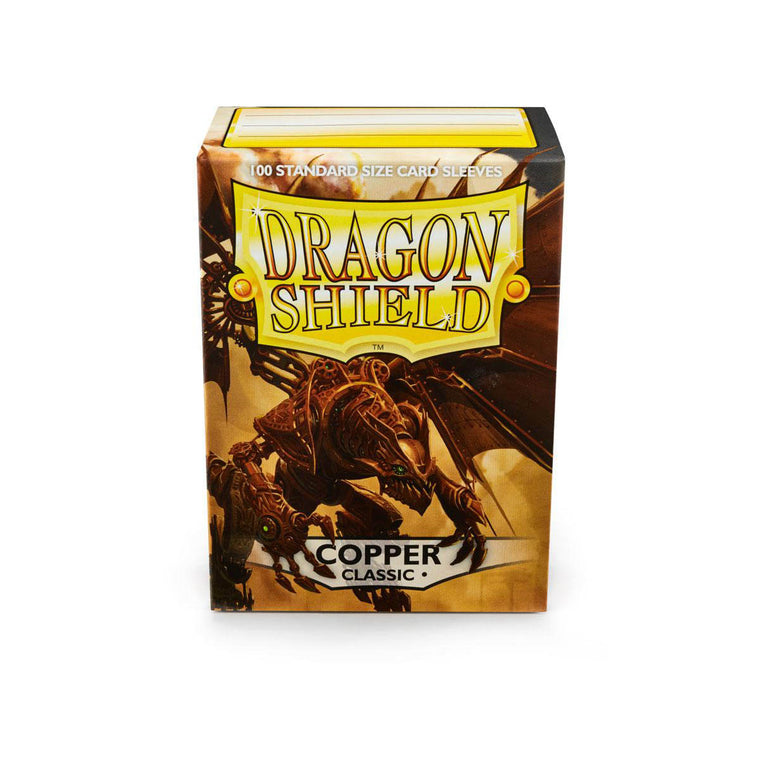 Dragon Shield Sleeves Copper 100CT Standard Size