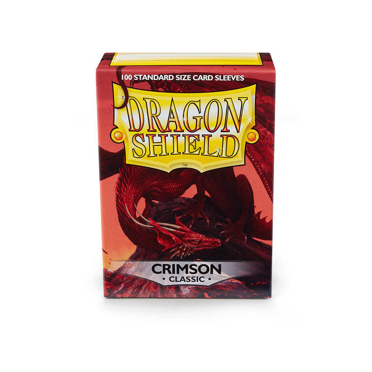 Dragon Shield Sleeves Crimson 100CT Standard Size