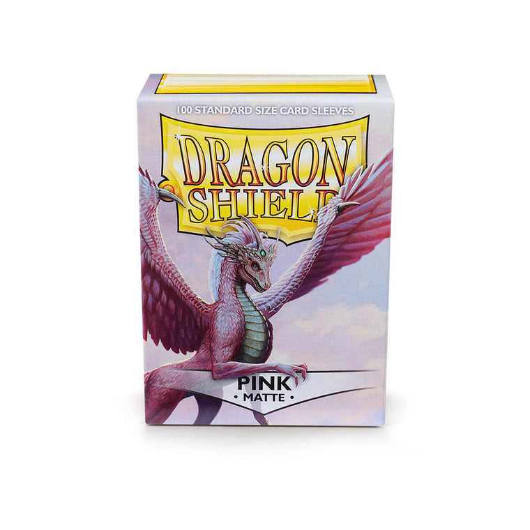 Dragon Shield Sleeves Matte Pink 100CT Standard Size