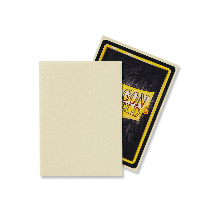 Dragon Shield Sleeves Matte Ivory 100CT Standard Size