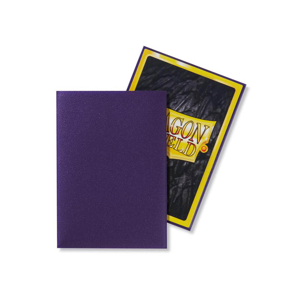 Dragon Shield Sleeves Matte Purple 60CT Japanese Size