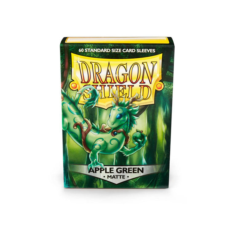 Dragon Shield Sleeves Matte Apple Green 60CT Standard Size