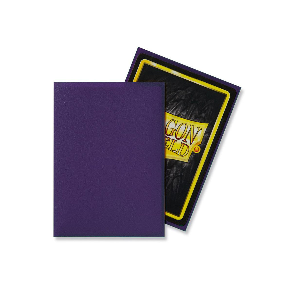 Dragon Shield Sleeves Matte Purple Non-Glare 100CT Standard Size