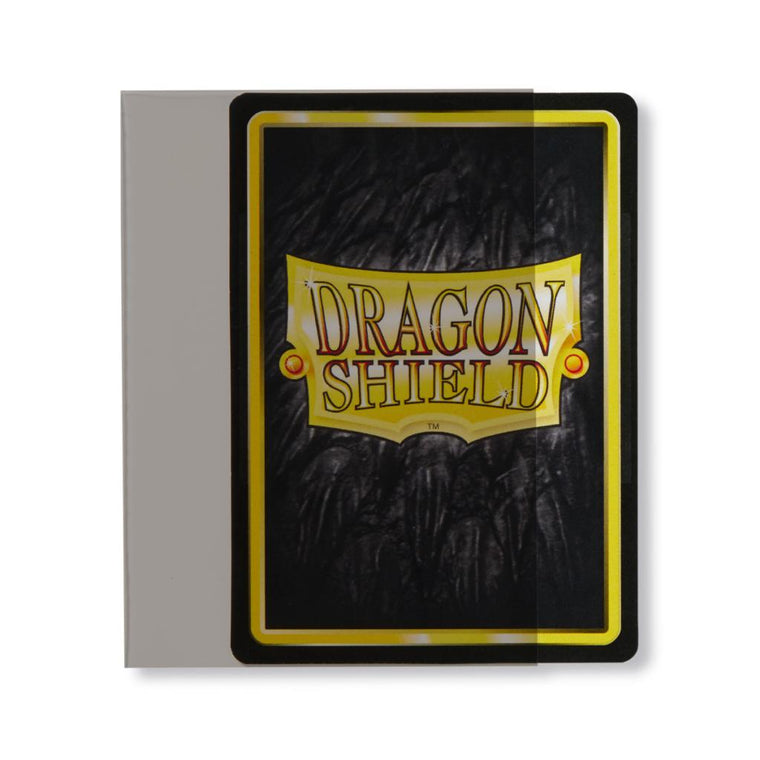 Dragon Shield Sleeves Perfect Fit Sideloader Smoke 100CT Standard Size